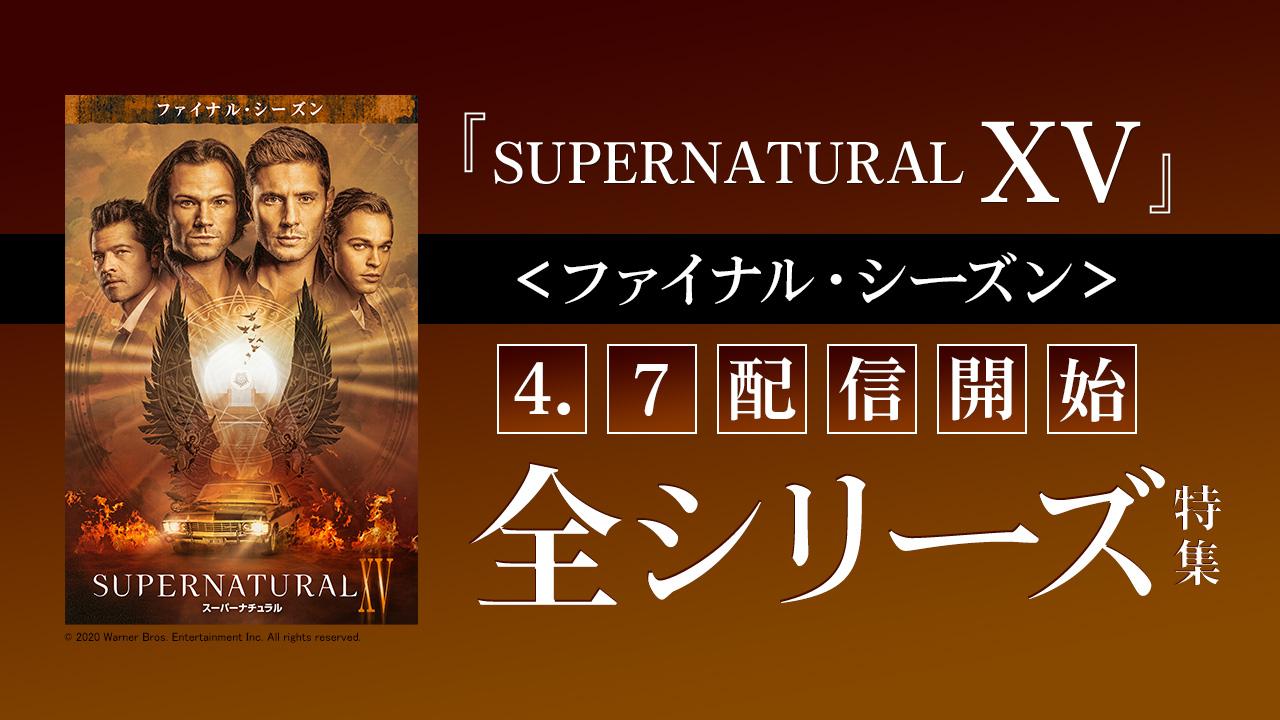 4/7『SUPERNATURAL XV <ファイナル・シーズン>』配信開始 全シリーズ特集