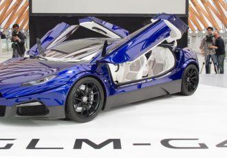 GLM G4 Japan Premiere 国産初のEVスーパーカー誕生!価格は4000万円~