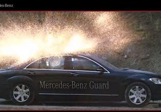 車重は4トン!パワーは500馬力!防弾仕様のメルセデスベンツがスゴすぎる!