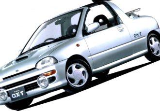 この小ささで4人乗り!?軽コンバーチブルクーペ、スバル・ヴィヴィオT-Top/GX-Tってどんな車?