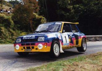 WRCを初めて制したターボ車、ルノー 5ターボを振り返る!