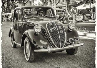 ルパンが乗ってるのは2代目!その原点となった初代フィアット500『トッポリーノ』を知っていますか?