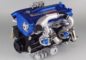 1/6サイズのRB26DETT!完全再現された日産エンジンのミニチュアモデルがスゴい!