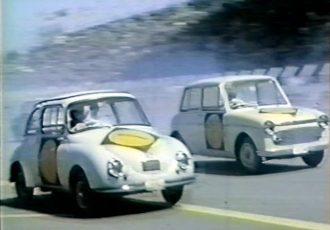 国産FF車の草分け的な一台!日本グランプリでも激走した初代スズキ スズライト・フロンテ