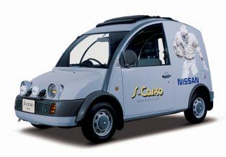 斬新すぎる商用車!こんな働くクルマが増えれば世界が楽しくなる!日産 エスカルゴ