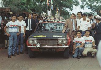 サファリラリーで念願の栄冠を獲得した歴代最高傑作!3代目日産510型系ブルーバード