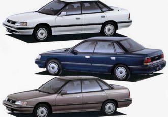 初代レガシィ??スバルからOEM供給された2代目いすゞ・アスカCXとは?