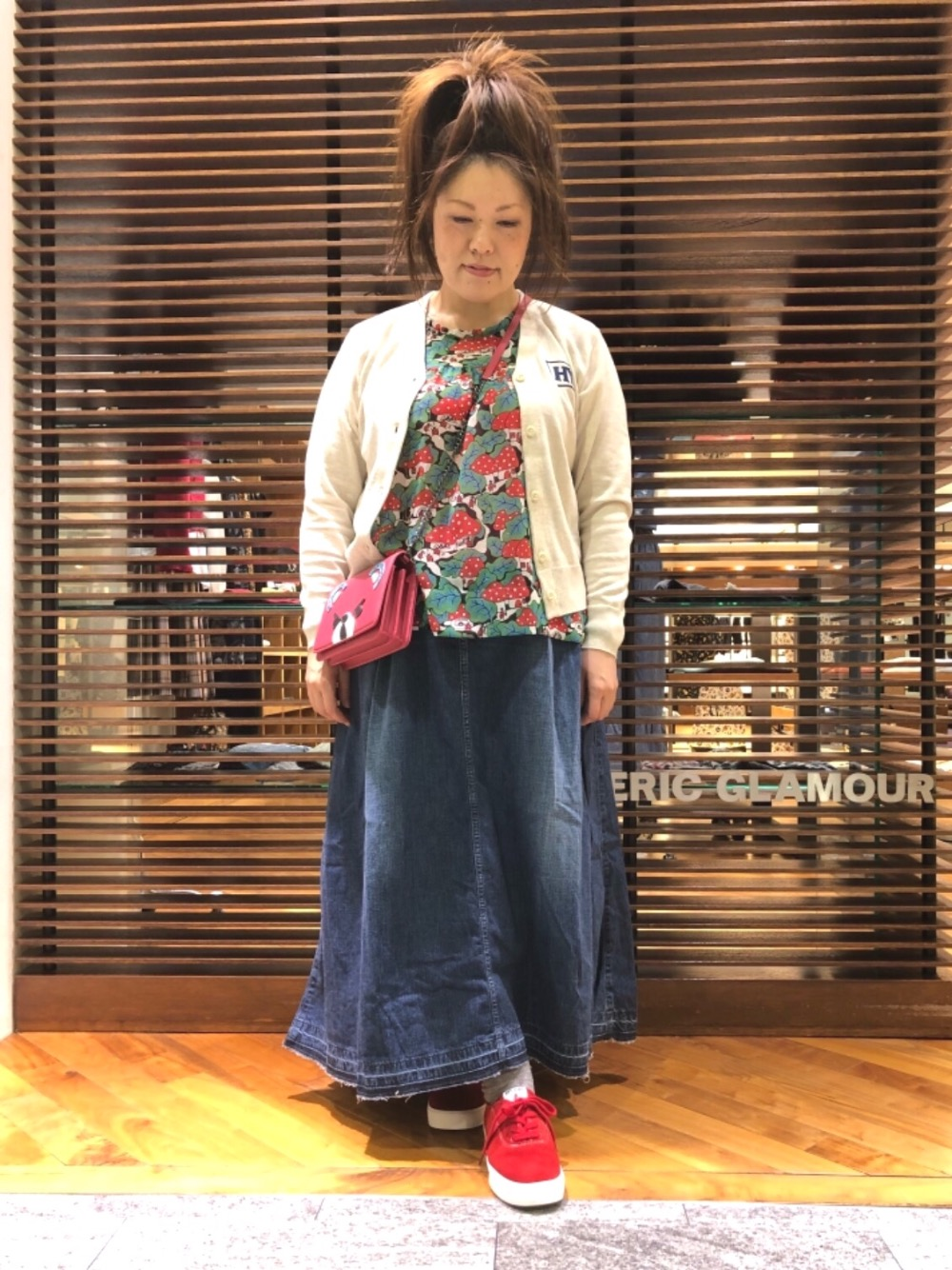 お気に入りスカート