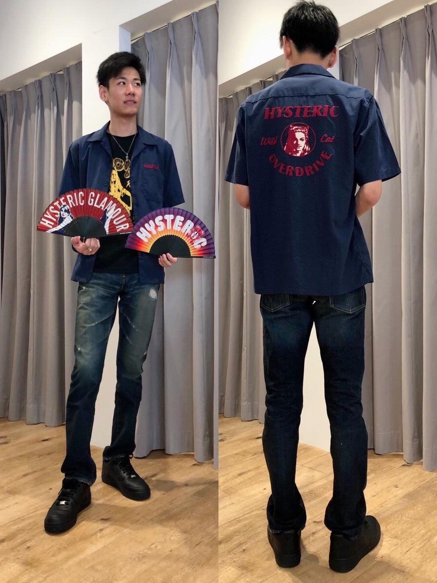 新作Tシャツと半袖シャツ