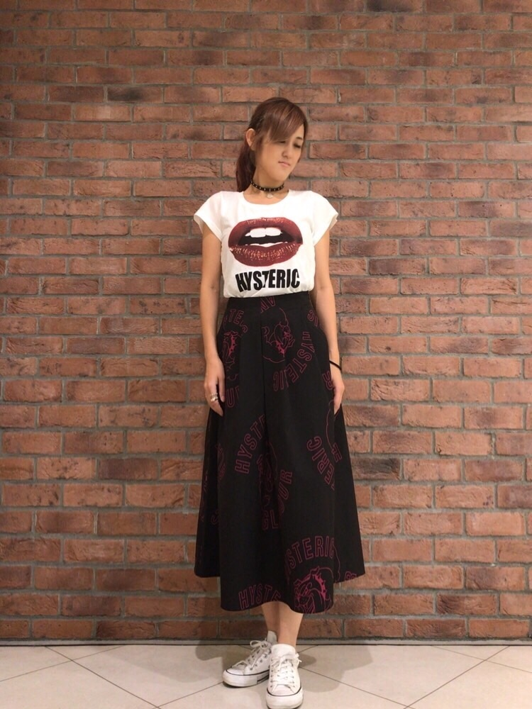 軽やかロングスカート
