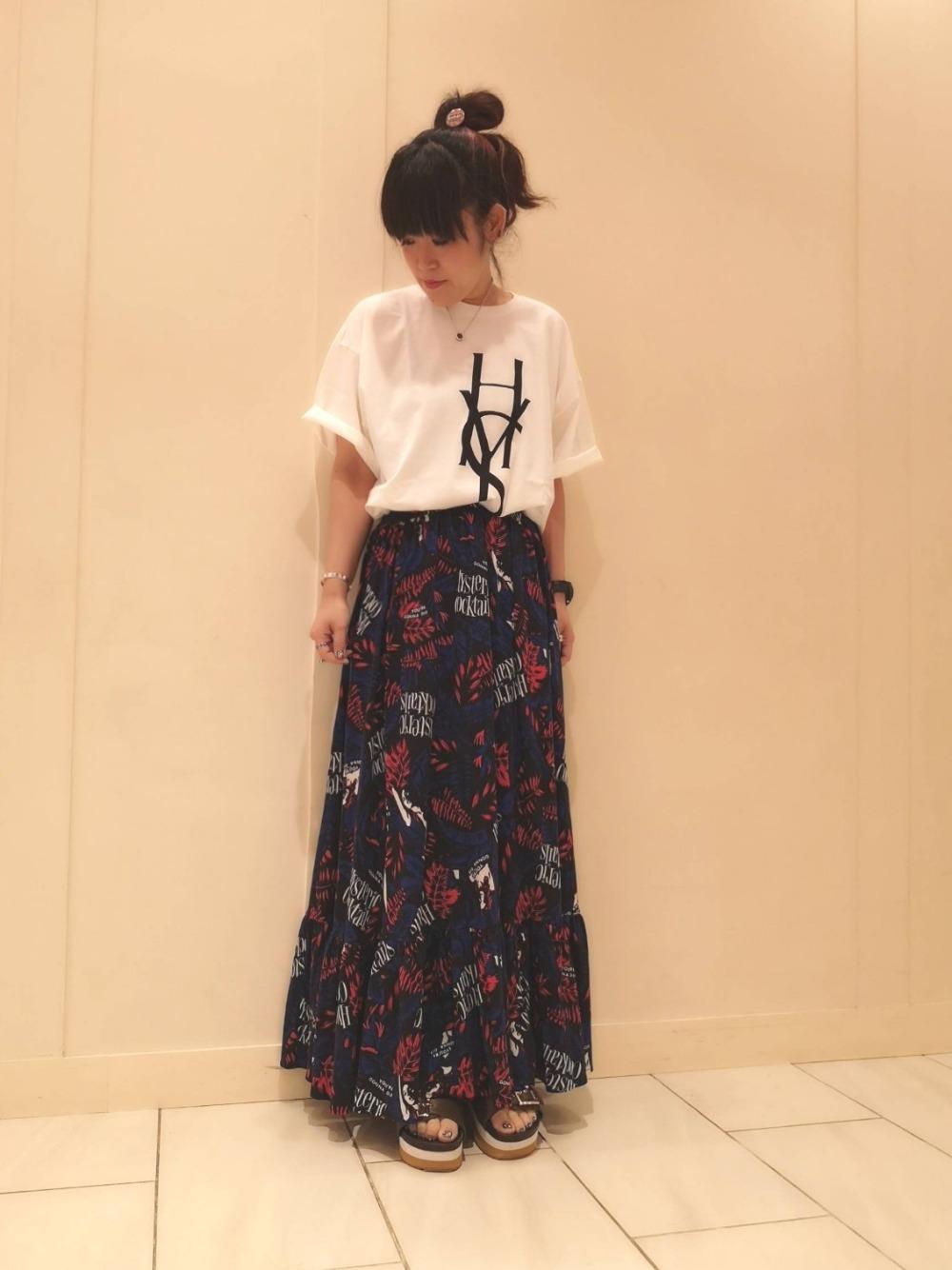 ロングスカート♪