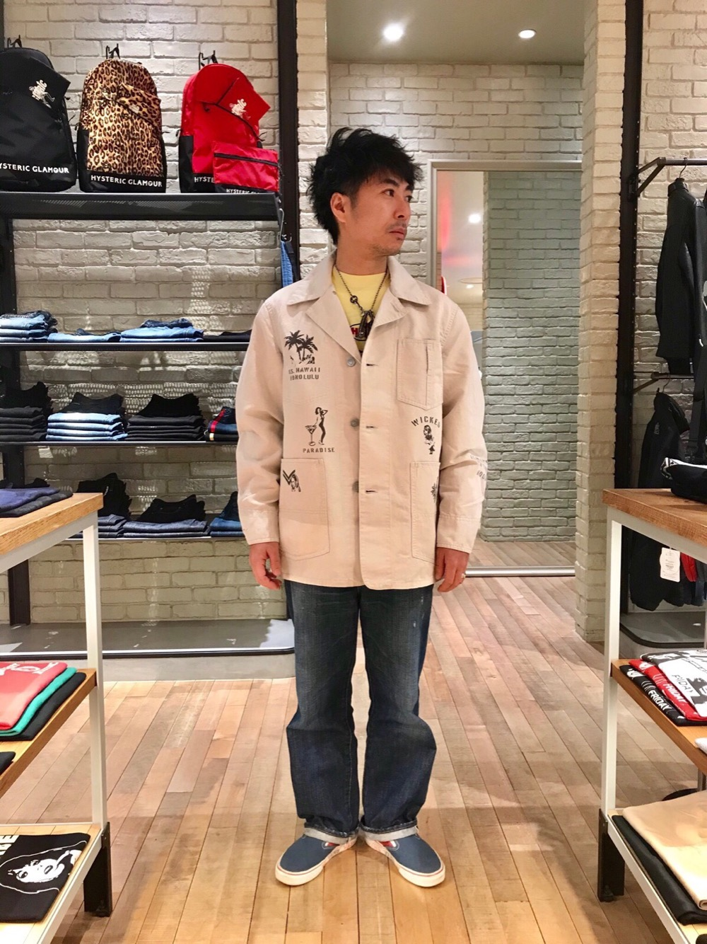 HYSTERIC GLAMOUR札幌ステラプレイス店