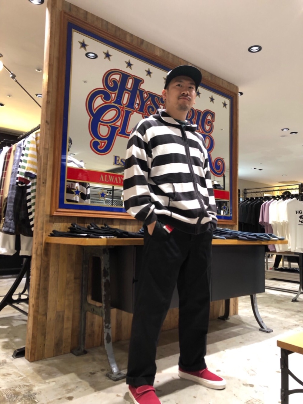 HYSTERIC GLAMOUR阪急メンズ東京店