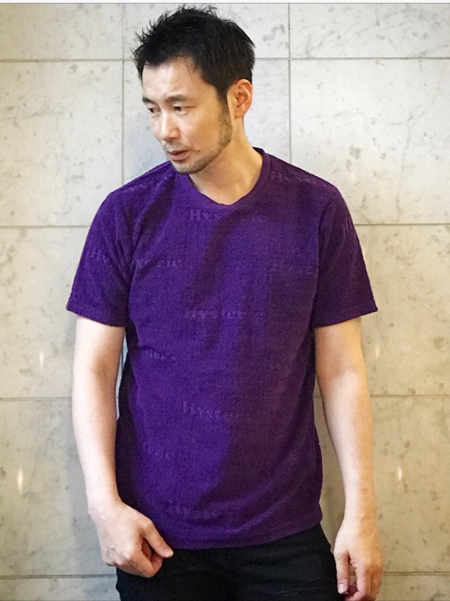 パイルジャガード hysteric ロゴ Tシャツ