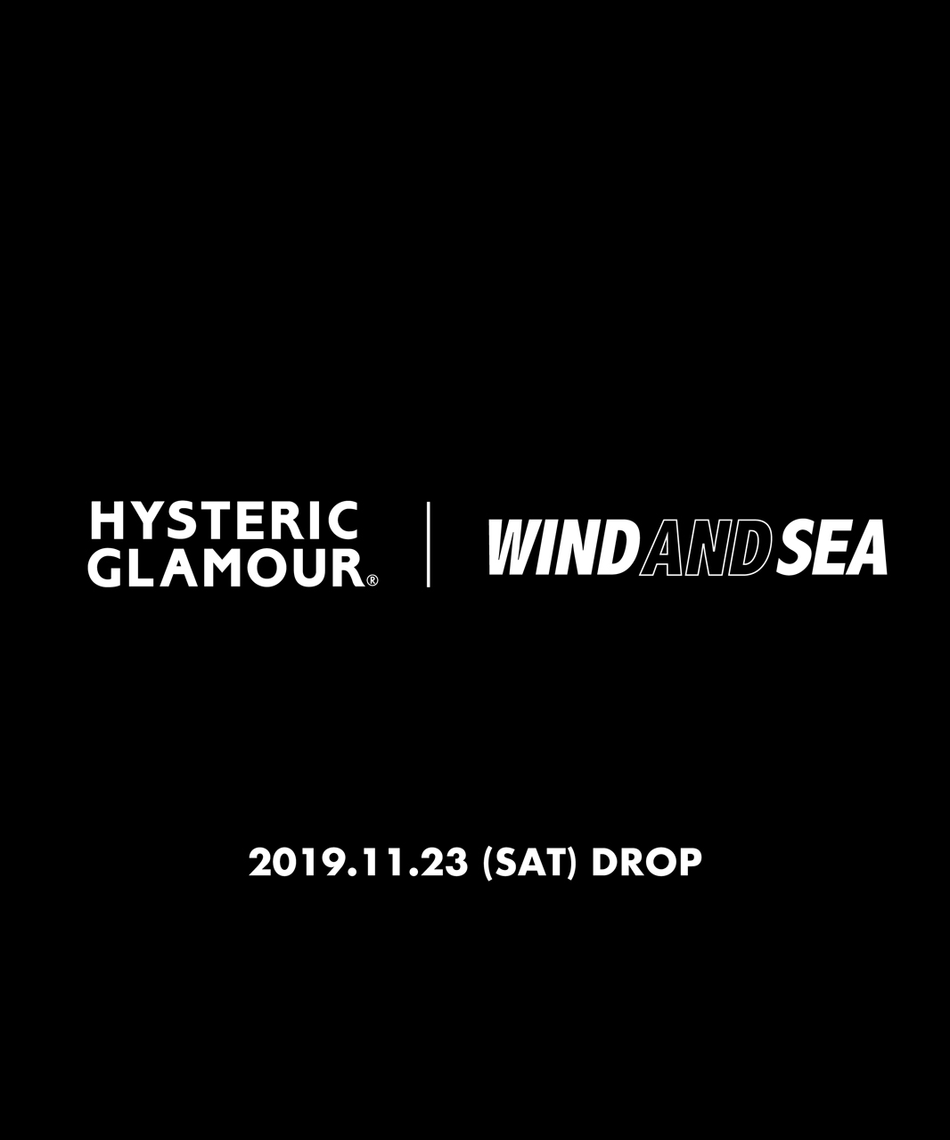 HYSTERIC GLAMOUR × WIND AND SEA