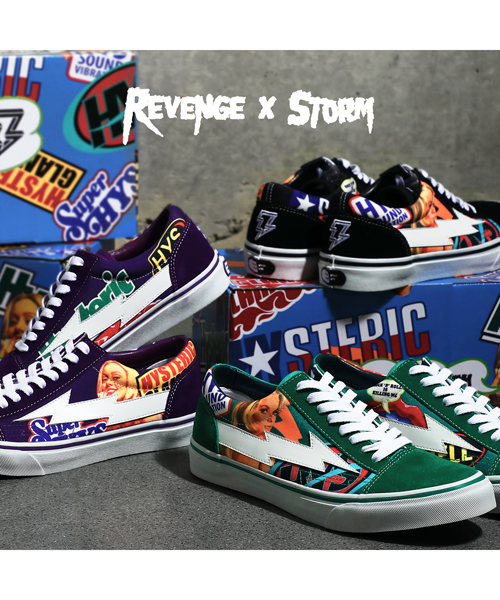 REVENGE x STORM × HYSTERIC GLAMOUR