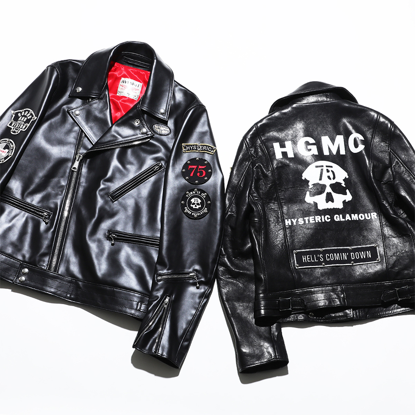 LEWIS LEATHERS × HYSTERIC GLAMOUR