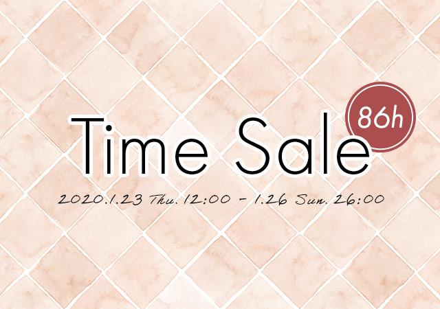 12:00より、タイムセール開催★