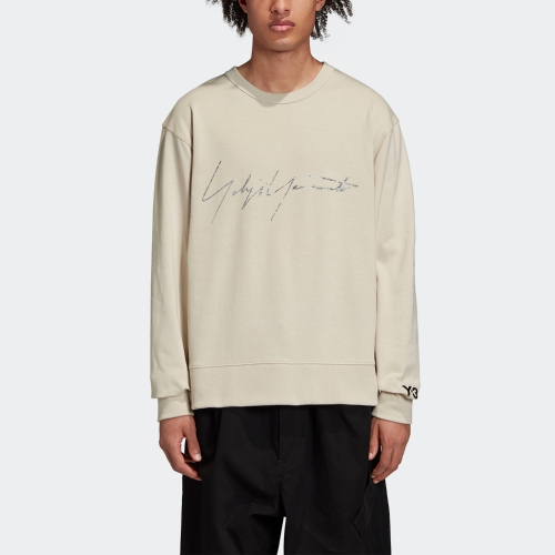 M DISTRESSED SIGNATURE CREW SWEATSHIRT