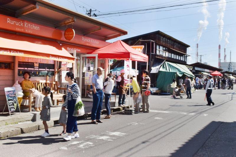 沼垂テラス商店街(テラスオフィス)