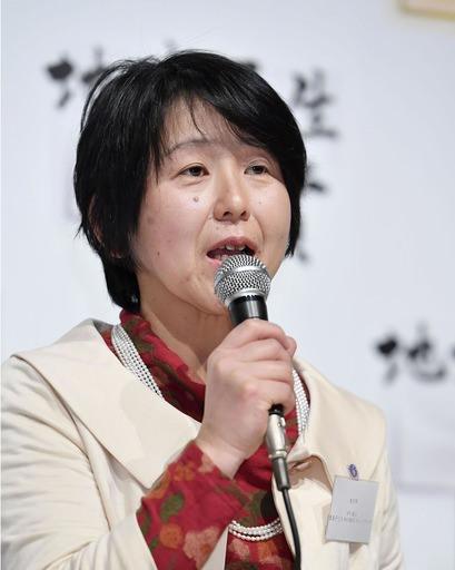 「豊島子どもWAKUWAKUネットワーク」の栗林知絵子理事長