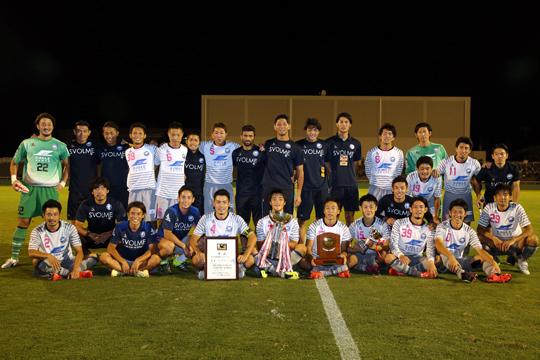 FC町田ゼルビア (3年ぶり4回目)