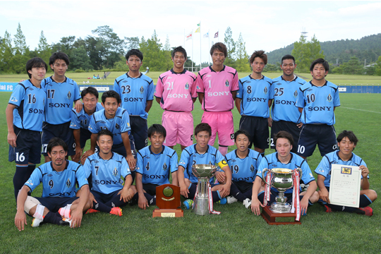 ソニー仙台FC(2年ぶり18回目)