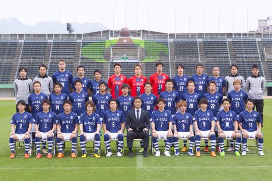 鹿児島ユナイテッドFC(3年連続3回目)