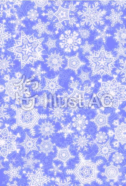 雪の星屑1(青)