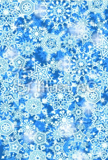 雪の星屑2(青)