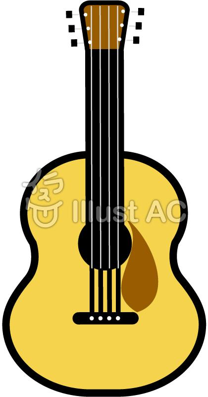 クラシックギターイラスト/イラストACはイラストが無料!商用利用もOK!ブログにこのイラストを貼るOriginal text