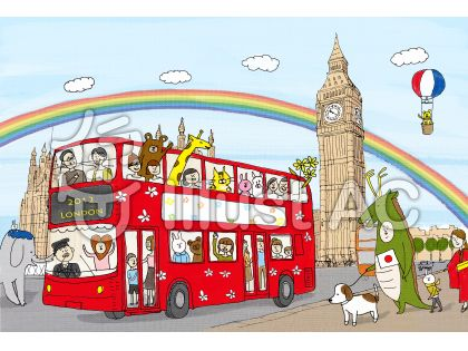 ロンドンオリンピックのイラスト