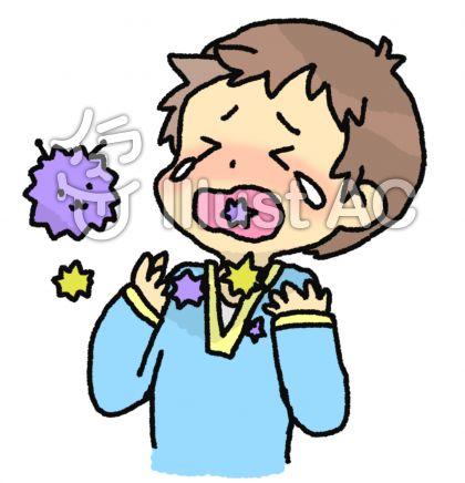 風邪で喉イガイガ