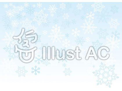 【リクエスト】シンプルな雪の結晶 背景