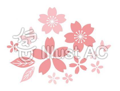 桜 ポイントデザイン