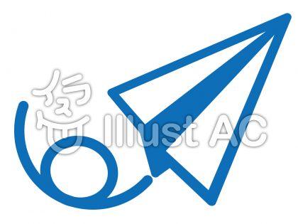 ピクトグラム(紙飛行機)