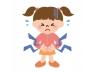 医療-お腹が痛む少女