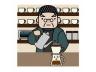 喫茶店マスター・コーヒードリップ