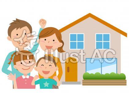 51116.家と四人家族,上半身