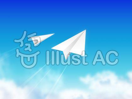 青空と紙飛行機07