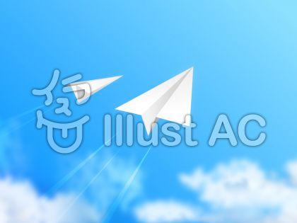 青空と紙飛行機08