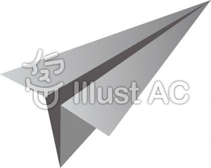 シンプル紙飛行機