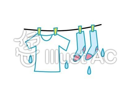 シャツと靴下の洗濯