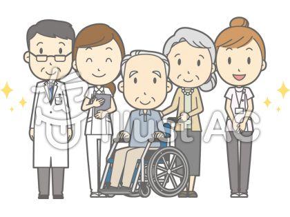 病院メンバー集合-介護