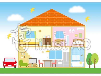 家の断面イメージ