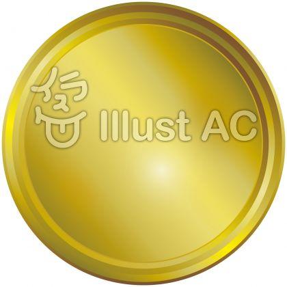 金色黄金ゴールドエンブレムメダルアイコン