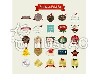 クリスマスレーベル