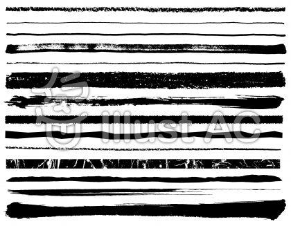 色んなライン黒