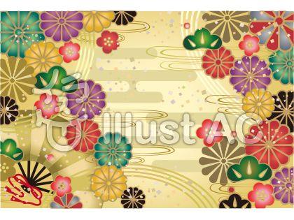 和柄のポストカード