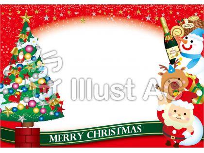 A版サイズクリスマスツリーカード
